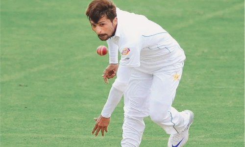 Amir trains with team amid reports of injury
