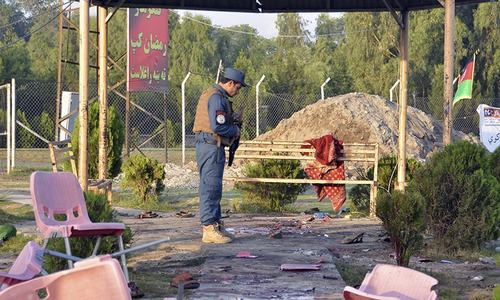Explosions in Afghan cricket stadium leave 8 dead, 45 wounded