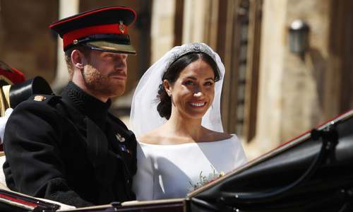 In pictures: Prince Harry and Meghan Markle's fairy tale royal wedding
