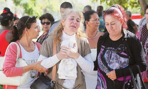 Cubans mourn death of over 100 in air crash