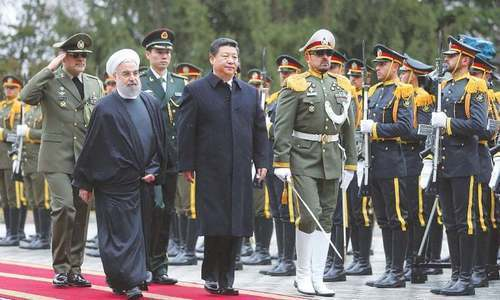 China cements its status as Iran's new best friend as the West slam its door shut