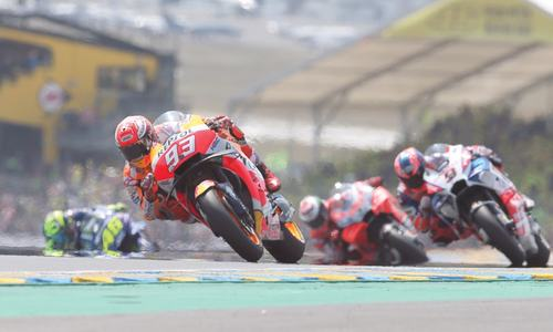 Marquez extends lead with Le Mans win
