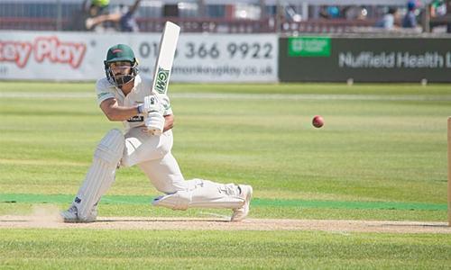 Pakistan bowlers toil in drawn tour game