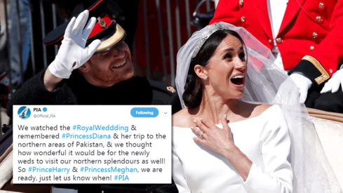 PIA wants Prince Harry and Meghan Markle to visit Pakistan's northern areas
