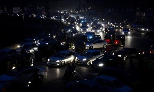 Power breakdown leaves most of Punjab in dark