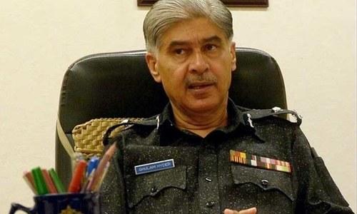 سپریم کورٹ: سابق آئی جی سندھ غلام حیدر جمالی کی عبوری ضمانت منظور