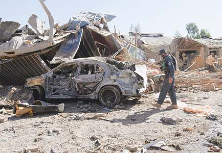 16 killed, 38 injured in Kandahar blast