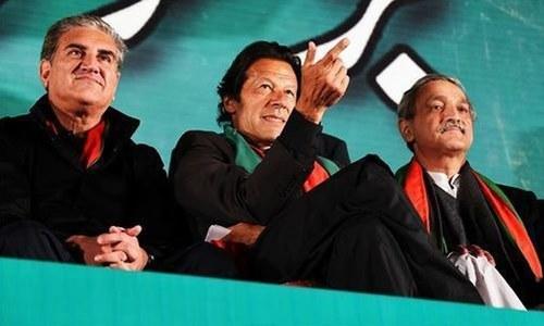 تحریک انصاف کا اجلاس: شاہ محمود قریشی اور جہانگیرترین میں تلخ کلامی