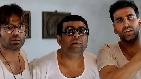 Akshay Kumar, Suniel Shetty and Paresh Rawal reunite for Hera Pheri 3