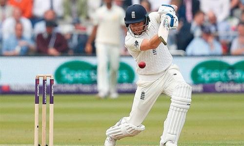 England 72-3 against Pakistan