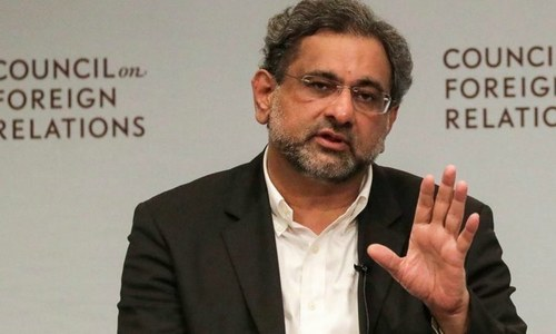 Abbasi contradicts minister's statement, says it was his decision to block airing of post-NSC press talk