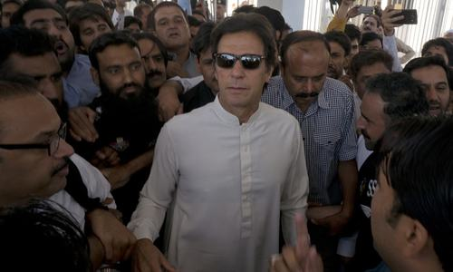 In rare assembly appearance, Imran votes for Fata bill