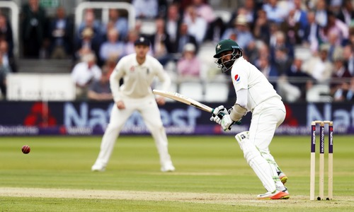 Lord's Test: Pakistan 136-3 at lunch after England 184 all out in first innings