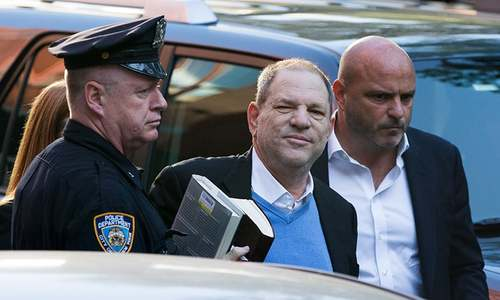 Weinstein turns himself in, charged with rape and sex crimes by NY police