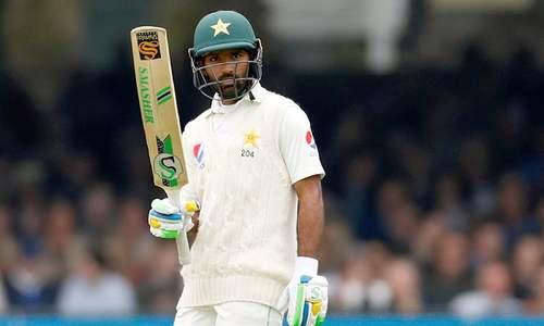 انگلینڈ کی برتری ختم، پاکستان کی پہلی اننگز میں پوزیشن مستحکم