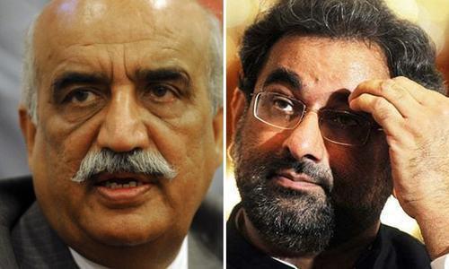 Shah shuts door on caretaker set-up talks with PM