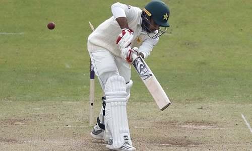 لارڈز ٹیسٹ: پاکستان ٹیم پہلی اننگز میں 363 رنز بنا کر آل آؤٹ