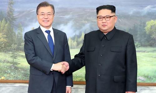 جنوبی، شمالی کوریا کے رہنماؤں کی غیر فوجی علاقے میں دوسری ملاقات