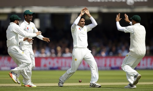 Pakistan removes England openers before lunch, heading for win at Lord's