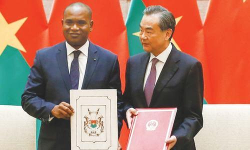China, Burkina Faso establish ties following Taiwan snub