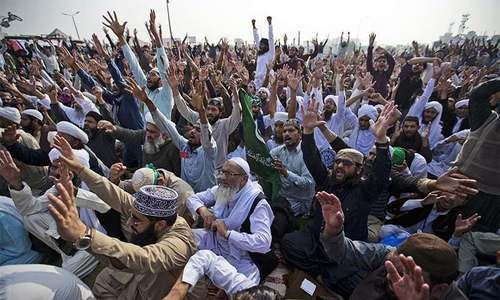 حکومت نے 'آئی ایس آئی کو فیض آباد دھرنا ختم کرانے کیلئے اختیارات دیئے'، رپورٹ