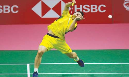 Chinese shuttlers regain glory with Thomas Cup win