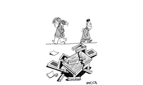 Cartoon: 28 May, 2018