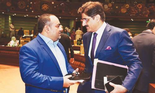 Murad, Izhar meet today to exchange names for caretaker chief minister in Sindh