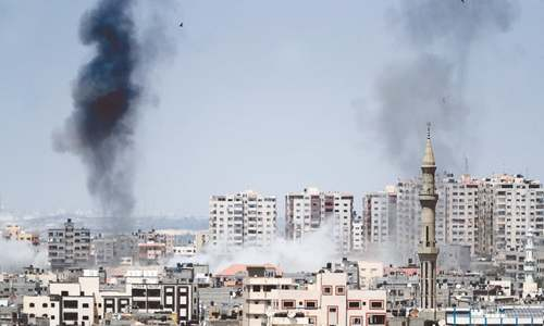 Israeli jets bomb Gaza after mortar shells fired from strip