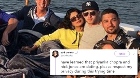 Are Priyanka Chopra and Nick Jonas dating? Twitter's got something to say about it