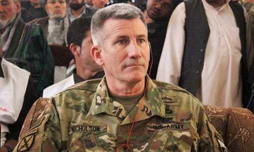 US general says some Taliban interested in peace
