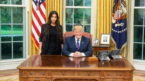 Kim Kardashian meets Donald Trump to discuss prison reform