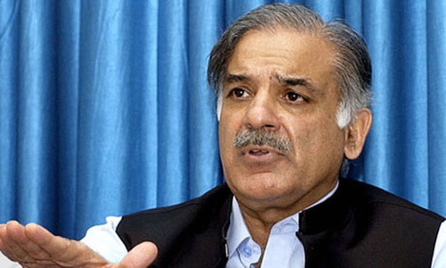 Blame caretakers if there's an outage now: Shahbaz