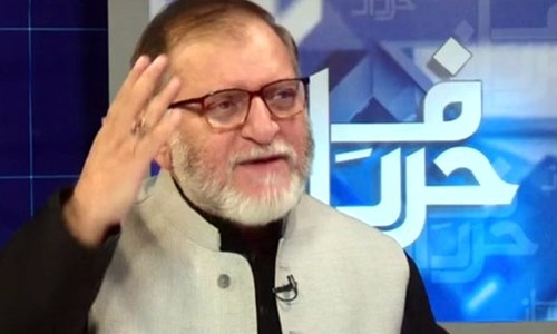 PTI leaders in a quandary over Orya Maqbool Jan's nomination for Punjab caretaker CM