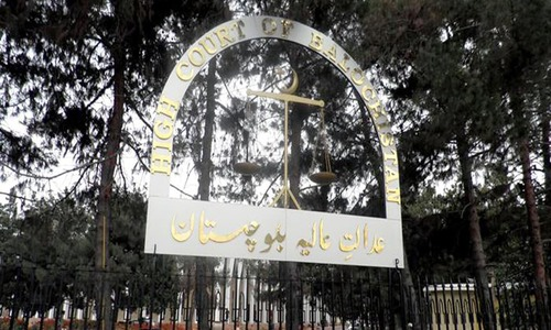 Balochistan High Court declares 8 provincial constituencies in Quetta null and void