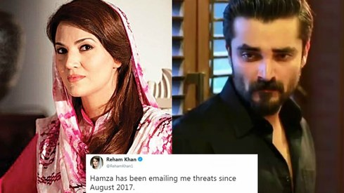 Reham Khan bashes Hamza Ali Abbasi for tweeting against her upcoming book