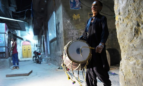 The beat is fading for Ramazan drummers but Rawalpindi's Lal Hussain persists to keep the practice alive