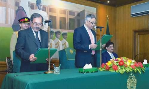 Ex-bureaucrat sworn in as Sindh caretaker CM