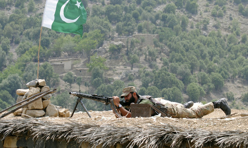 Security forces kill 6 'terrorists', repulse multiple attacks from across Afghan border