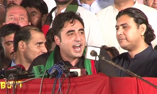 Bilawal obtains nomination papers for Lyari's NA seat