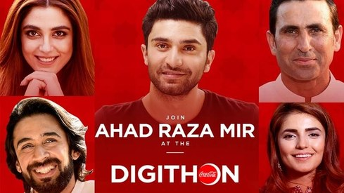 These celebs join hands with Coca Cola to run Pakistan's first live digital donation drive today