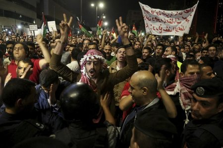 King Abdullah appoints new Jordan prime minister as protests resume