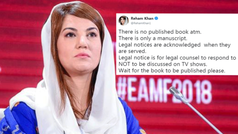 Reham Khan book controversy now involves legal notices and we can barely keep up
