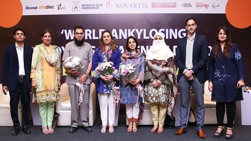 Novartis hosts a press conference on understanding bone diseases in Karachi