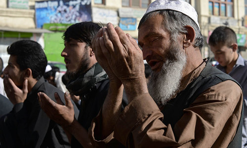Afghan govt to observe Eid ceasefire in fight with Taliban