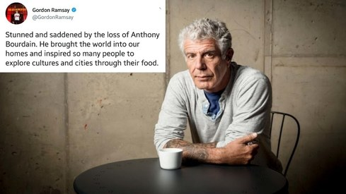 Fans all over the world grieve Anthony Bourdain's tragic passing