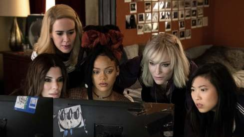 Female-led Ocean's 8 opens with franchise-best weekend, raking in $41.5 million