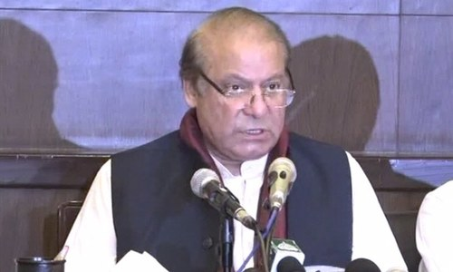 My fundamental rights are being violated: Nawaz Sharif