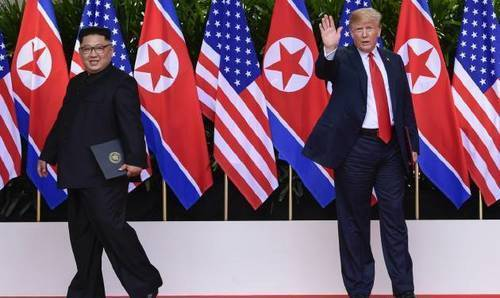 All talk, no action?: By Trump's own yardstick, North Korea pact falls flat