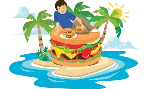 Story Time: Guddu and the chicken burger
